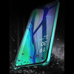 Image 5 - Luxus Magnetische Metall Stoßstange Fall Für OPPO Reno F11 V15 Pro R17 Abdeckung Doppelseitige Glas Voll Körper Fall für OPPO Reno 10X Zoom