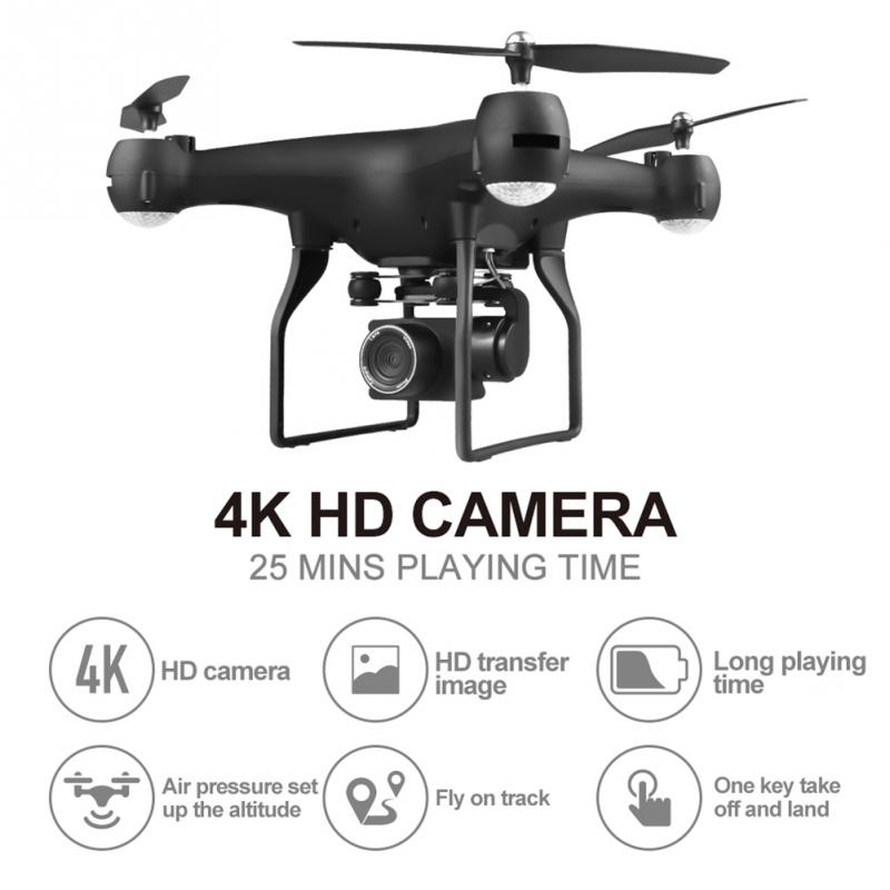 F68 drone Wifi real-time transmission Drone 4k HD1080P camera RC Quadcopter drone highly stable 25mins flying time RC Helicopter