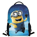 PROMOTION 2016 Fashion Novelty Despicable Me Kids Cartoon Backpack Minions emochilas children school bag mochilas free shipping
