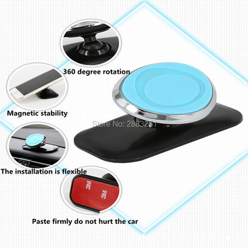 Magnetic 360 Rotation GPS Magnet Phone Car Phone Holder for KIA sportage 3 rio sorento cerato k2 Soul ceed k3 k5 car accessories image