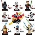 Star Wars 7 La Fuerza Despierta La Construcción de Juguetes Para Niños Bloques de Construcción de Figuras Juguetes Regalo de Cumpleaños Del Muchacho Legoe compatible