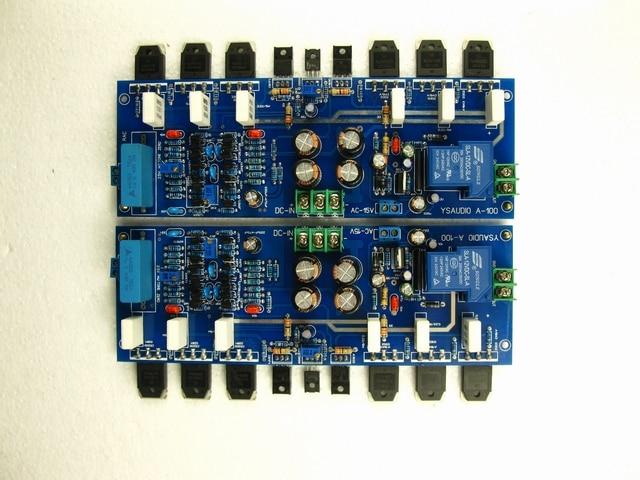 ФОТО A100 Class A amplifier board (golden voice circuit) field pipe Input