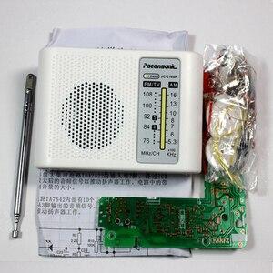 Image 4 - CF210SP AM/FM Stereo Radio Kit DIY Elektronische Montieren Set Kit Tragbare FM AM radio DIY teile Für Learner
