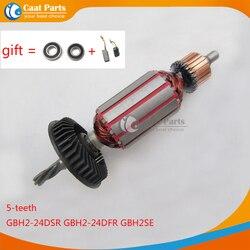 AC220-240V 5 الأسنان حملة رمح المطرقة الكهربائية المحرك الدوار لبوش 24 GBH2-24 GBH2-24DSR GBH2-24DFR GBH2SE GBH2SR