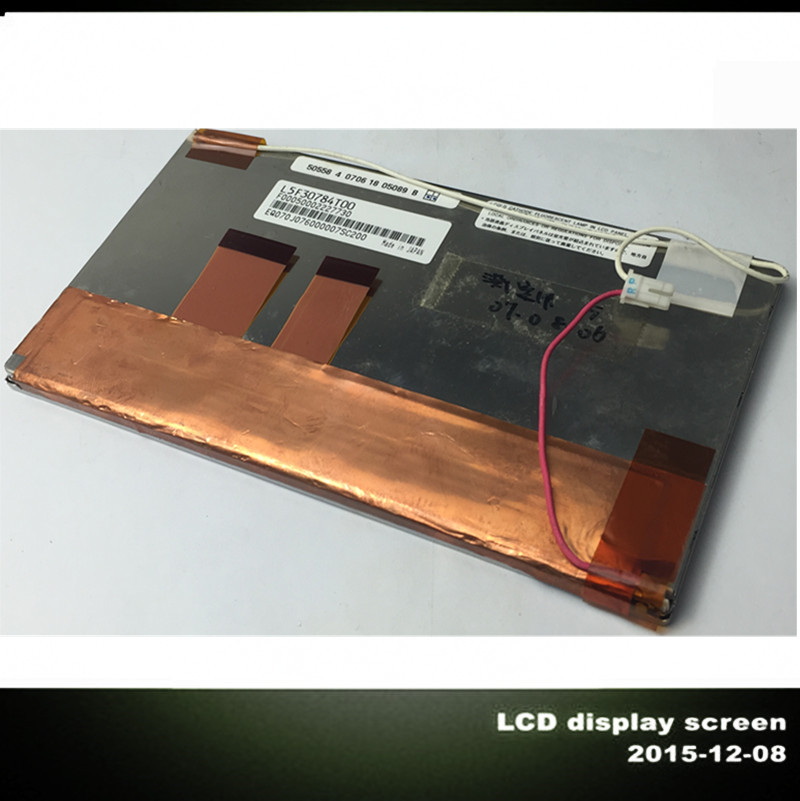 ФОТО Tools LCD Screen Panel For L5F30784T00 F00050002227730 EQ070J076000007SC200 50558 4 0706 18 05089 no Touch Screen Free shipping
