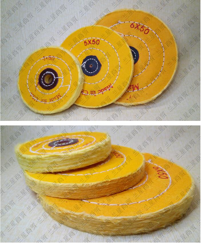 Abrasives Tools Pearl Flannel Wheels Polishing Wheels Wood Jade Jewelry Acrylic Ultra-fine Polishing Tools
