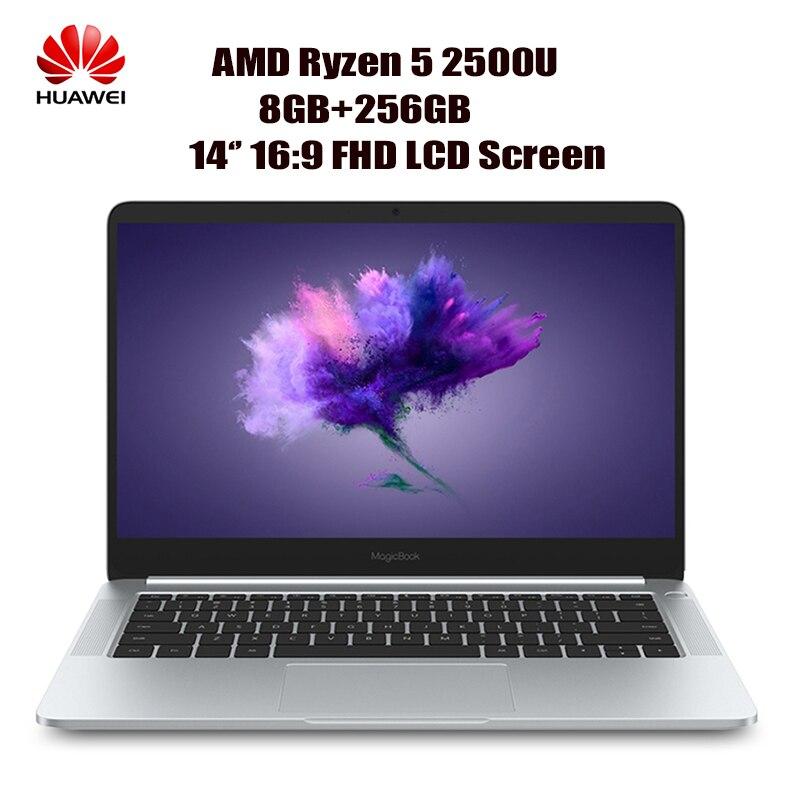 HUAWEI Honor MagicBook KPL-WOOB Del Computer Portatile 14 ''16:9 FHD Finestre 10-OEM Pro AMD Ryzen 5 2500U Quad Core 8 gb + 256 gb Notebook HDMI