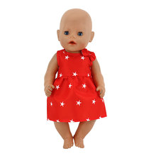 Doll Dress Fit For 43cm  Baby Doll 17inch Babies Reborn Doll Clothes And Accessories