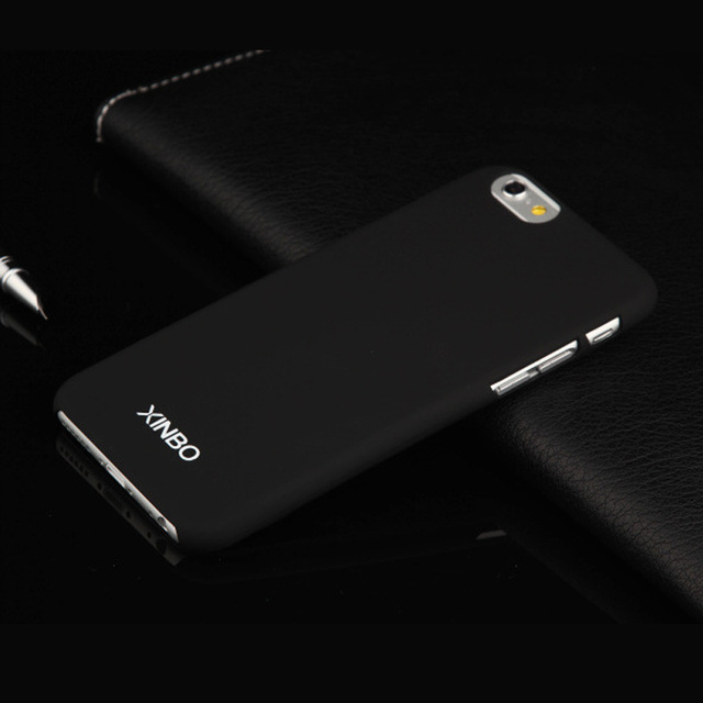 Slim Case For iPhone 6 6s Xinbo 0.8 mm Ultra Thin Smooth Surface Plastic Hard Back Cover For iPhone 6 6s Phone Cases Coque