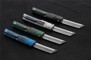 Image 4 - Wysokiej jakości VESPA Ripper, ostrze: M390 (satyna) uchwyt: 7075 aluminium + CF, survival odkryty EDC polowanie narzędzie taktyczne obiad nóż kuchenny