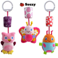 Baby Rattle Toys Animal Bells Toys Infant Appease Toys Baby Plush Toy High Quality Wind Chimes Ringing Free Shipping