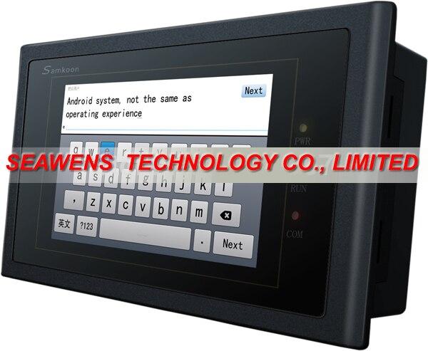 AK-070AS: 7 pouces 800x480 Ethernet HMI écran tactile AK-070AS nouveau dans la boîte avec câble de téléchargement de programme USB, expédition rapide