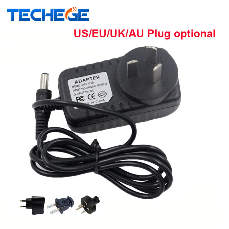 AC100V-240V / DC12V 2A Output Power Adaptor EU/AU/UK/US Plug Power Adapter Wall Charger DC 5.5mm x 2.1mm for CCTV Camera new dc 12v 2a ac 100 240v eu us uk au dc adapter charger power supply for led strip light cctv 2 5 5 5mm for dvr camera systems
