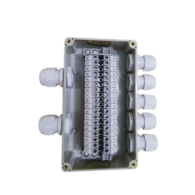 ip65 waterproof cable wiring junction box 2 in 5 out 160*90*60mmip65 waterproof cable wiring junction box 2 in 5 out 160*90*60mm with