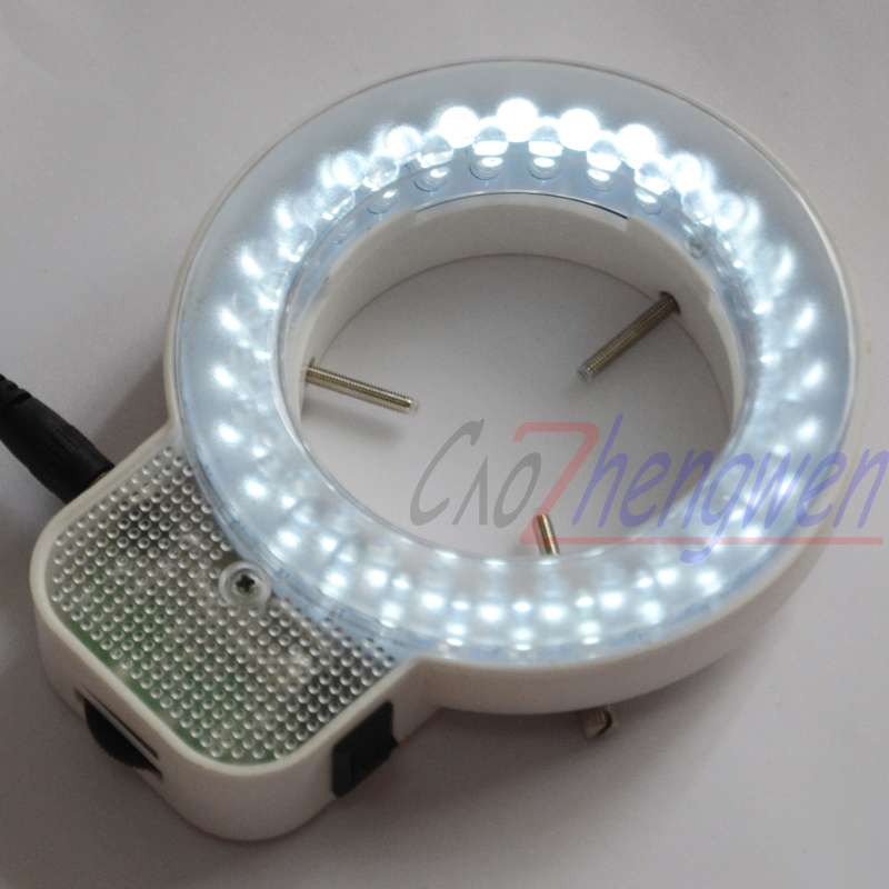 FYSCOPE New Arrive 56 pcs can control LED Light white ring microscope illumination Microscope led light
