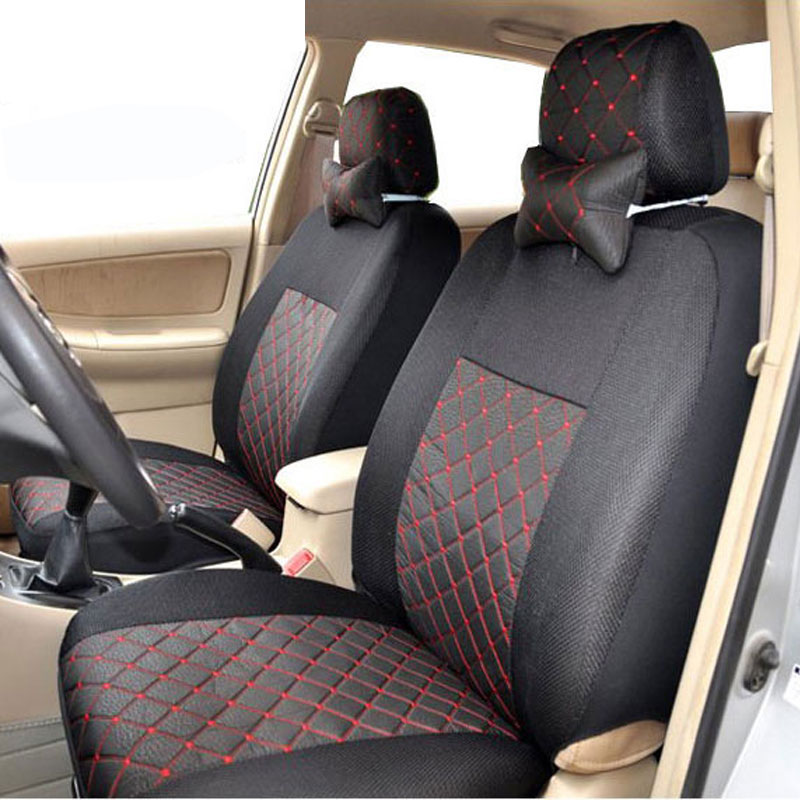 car seat cover universal for 5 seat standard 2 4 5 headrest rear seat back split