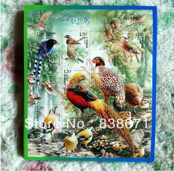 2008-4 Chinese birds are small piece version stamp collection collagen all products,China stamps
