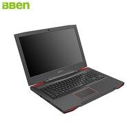 BBEN Laptop Gaming Computer Intel I7 7700HQ Kabylake GDDR5 NVIDIA GTX1060 Windows 10 RGB Mechanical Keyboard