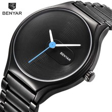 BENAYR Women Full steel Waterproof Simple Watches Casual Quartz Watch Women Brand lovers' watch montre femme relogio feminino