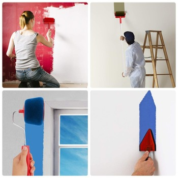 Seamless Decorative Paint Roller Pro Brush Set Paint Runner Paint Runner Roller Handle Brush Transform Your Room In Just Minutes