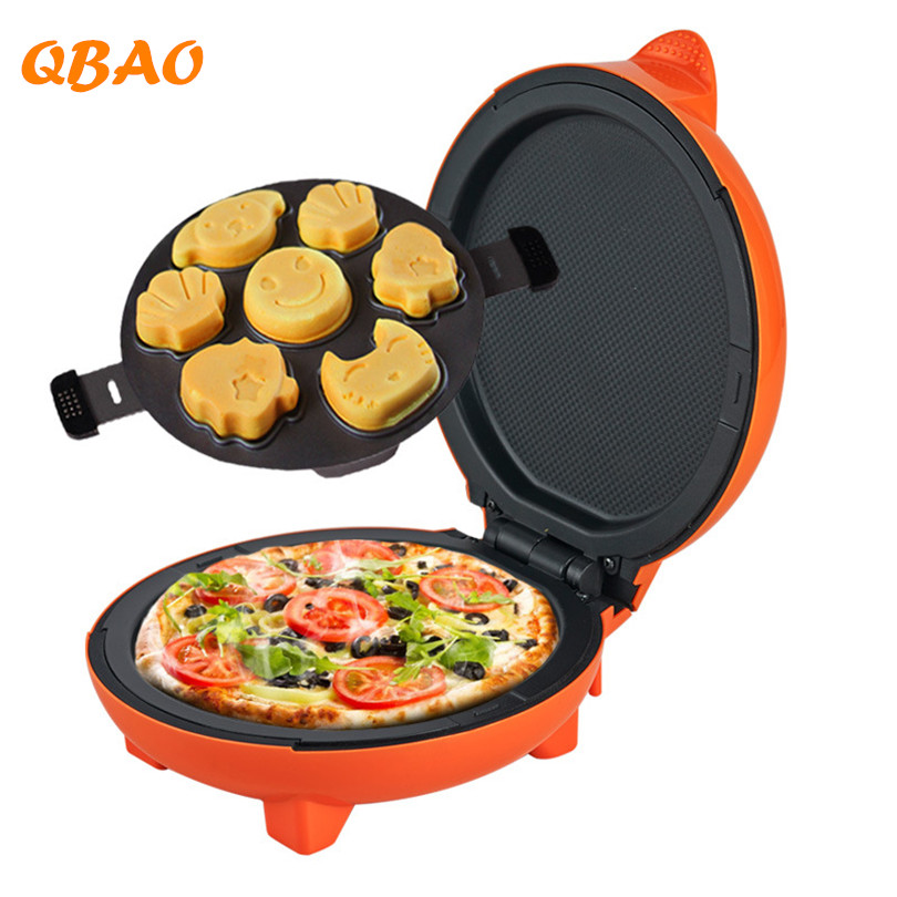 Bread Cake Waffle Maker 220V Mold Non-Stick Pan Griddle Tools Lovely Shape Muffin Mould  Kitchen Electric Baker Bakeware Machine