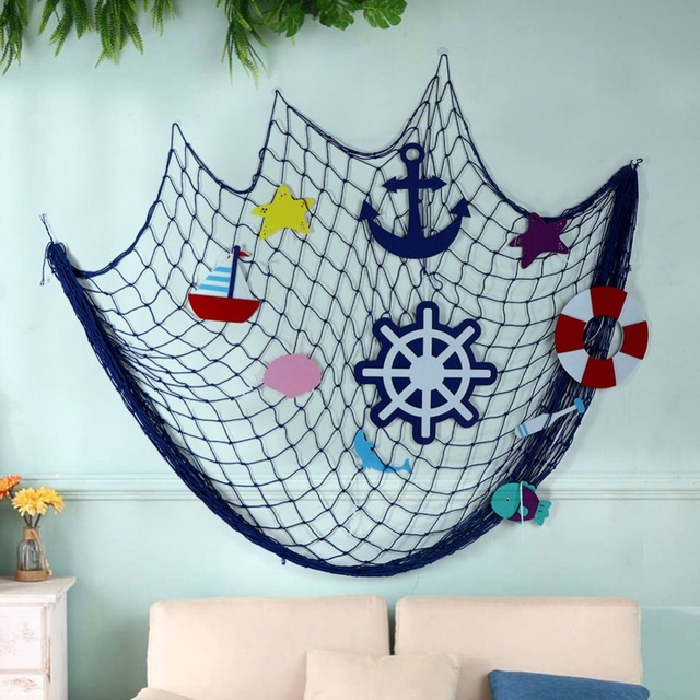Ourwarm 200m Diy Fishing Net Home Decoration Accessories Kids