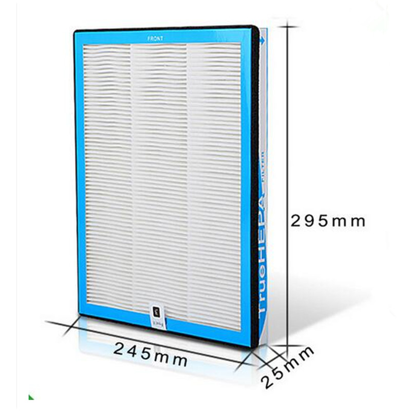 Replacement Air Purifier HEPA Filter 295*245*25mm For TKJ-F220B TKJ-F210B TKJ-F220A Air Purifier HEPA Filter Parts все цены