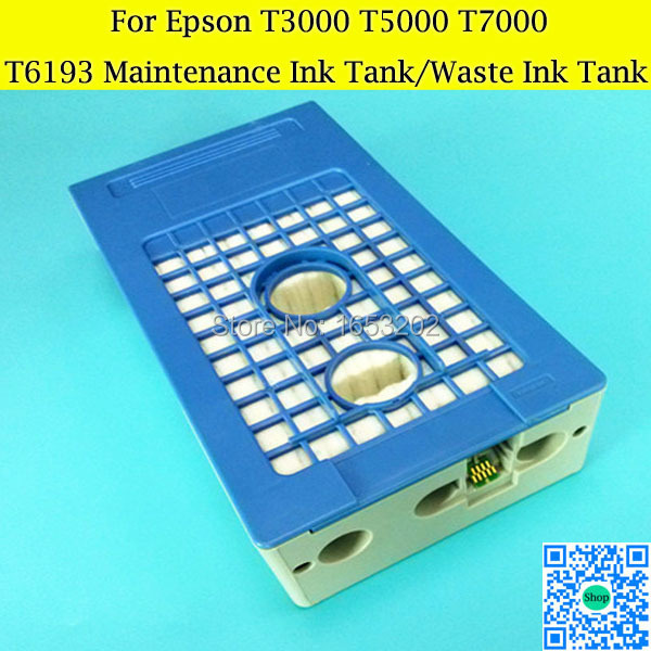 T6193 Maintenance Ink Tank For EPSON T3000 T5000 T7000 Waste Ink Tank