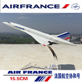 Rare 1/400 Scale Concorde Air France Diecast Plane Model  Collectible Aircraft Toys for Children Gift