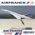 Rare 1/400 escala diecast modelo de avión de air france concorde aviones toys para niños de regalo de colección
