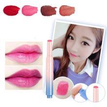 Push Button Press Lipstick Beauty Pop Velvet Matte Lipstick Cosmetic Batom Creamy Tint Color Balm Makeup lip stick A4