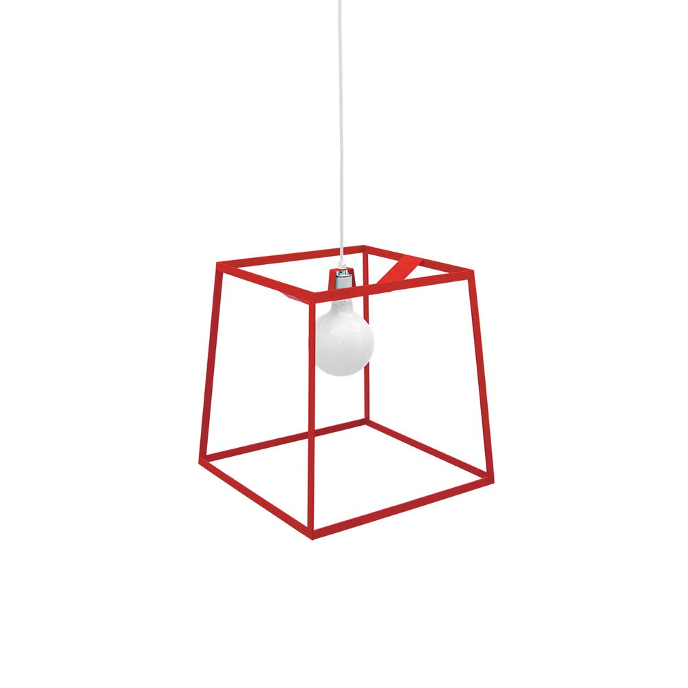 Здесь продается  Frame Pendant Lights Black Red White Metal Geometric Square Pendant Lamp For Bedroom Office Bar Lighting Fixtures Lustres PL119  Свет и освещение