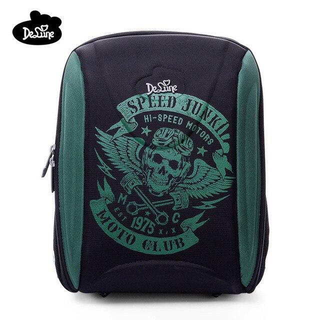 cf605c8fbd3c Delune Brand New Style Children s 3D Orthopedic School Backpack Primary  Grade 1-5 Girls Boys School Bags Mochila Infantil Bolsas