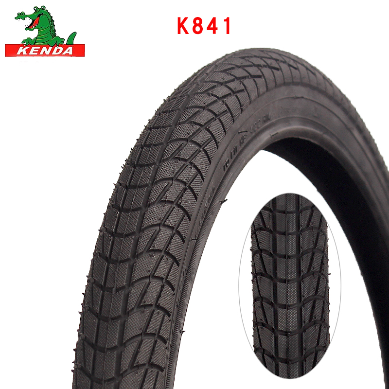 KENDA City Bicycle Tire K841 Steel Wire 16 20 26 Inches 16*1.75 20*1.75 1.95 26*2.125 Sightseeing Bike Mountain Bike Tires Parts