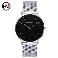 최고 브랜드 남성 시계 스테인레스 스틸 밴드 럭셔리 남성 시계 방수 석영 손목 시계 남성 비즈니스 Horloges Mannen|여성용 시계|시계 -