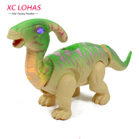 Egg Laying Parasaurolophus Dinosaur Toy Electronic Large Size Walking Dinosaur With Sound Educational Children Toys