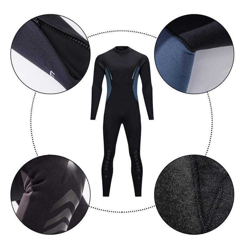 5mm Male Winter Swimming Plus Velvet Warm Diving Diving Suit Professional Blind Seam Wetsuit Black Color&High Quality M L XL XXL платье seam seam mp002xw18uic