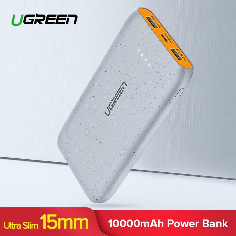 Ugreen Power Bank 10000 mah für iPhone X 8 Tragbare Externe Batterie Ladegerät für Handys Xiao mi mi 7 huawei P20 Pro Power