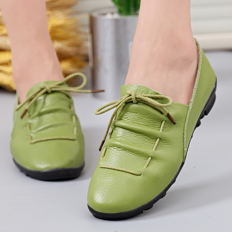 Genuine Leather Summer Loafers Women Casual Shoes Moccasins Soft Pointed Toe Ladies Footwear Women Flats Shoes FemaleGenuine Leather Summer Loafers Women Casual Shoes Moccasins Soft Pointed Toe Ladies Footwear Women Flats Shoes Female