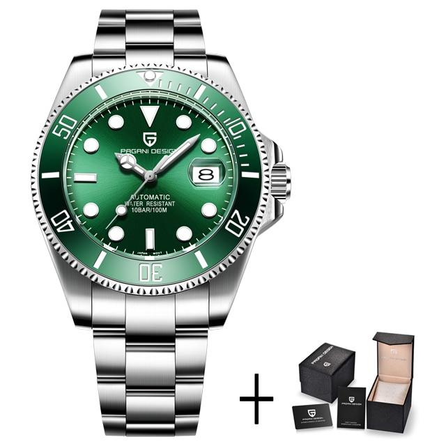 silver green B