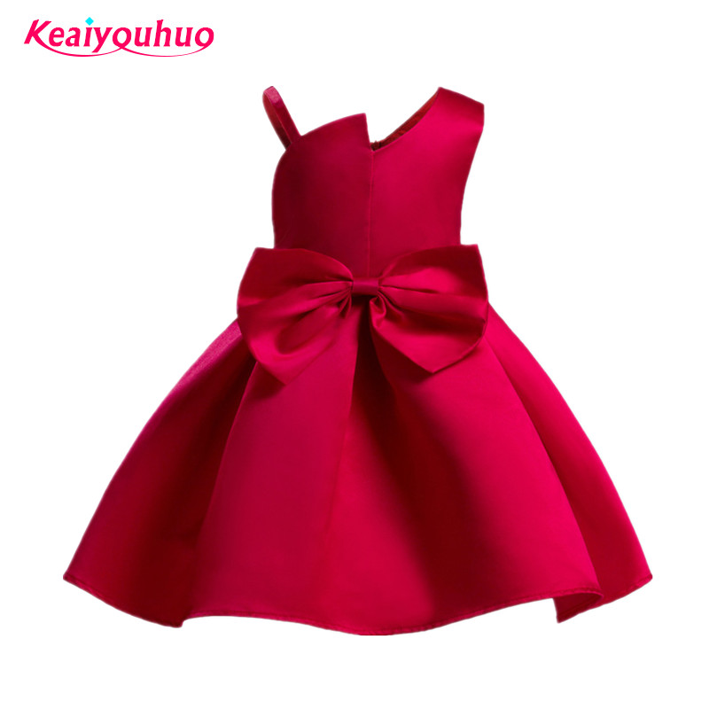 2018 Summer Kids Girls Princess Dress Elegant Baby Girl Party Dresses Children Wedding Birthday Evening Clothing 2 4 6 8 9 10 Y summer 2017 new girl dress baby princess dresses flower girls dresses for party and wedding kids children clothing 4 6 8 10 year