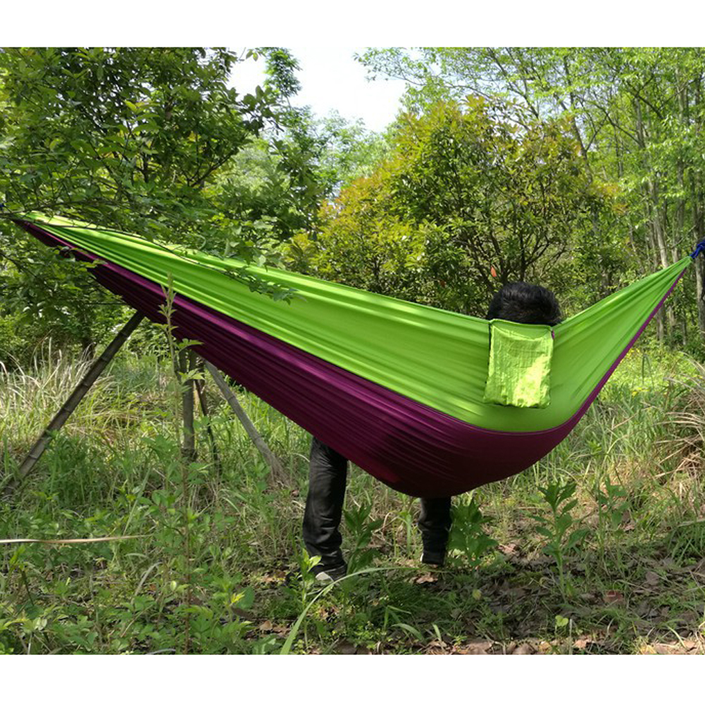 Gamma Hangmat Us 16 24 27 Off Ff 2 Persoon 210 T Nylon Shioze Hangmat Draagbare Parachute Tuin Schommel Camping Survival Gammak Base Slapen Bed Outdoor Hamac In