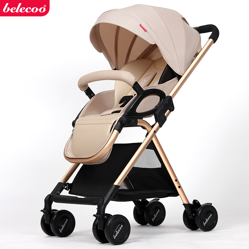 Belecoo bella baby stroller light shock car umbrella bb folding trolley  go-kart