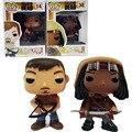 FUNKO POP The Walking Dead Michonne Daryl Dixon 14 # filme Quente PVC Action Figure Model Collection Toy Boneca 10 CM Presente para Amigos