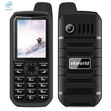 """Vkworld камень V3 Плюс 2.4 """"Экран 4000 мАч большой Батарея bluetooth мобильный телефон пыле Водонепроницаемый Dual SIM fm-радио мобильный телефон"""