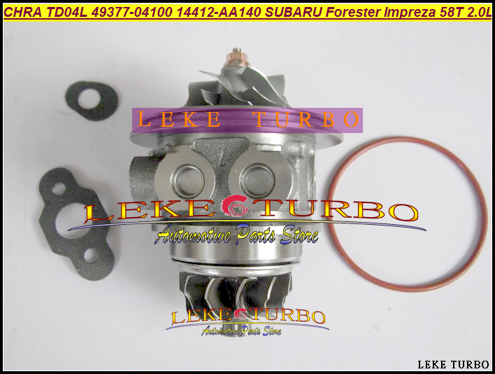 Turbo Cartridge CHRA TD04L 49377-04180 49377-04190 49377-04200 49377-04280 49377-04290 For SUBARU Impreza WRX 1998- 58T 2.0LTurbo Cartridge CHRA TD04L 49377-04180 49377-04190 49377-04200 49377-04280 49377-04290 For SUBARU Impreza WRX 1998- 58T 2.0L