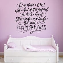 NEW English sentences Home Decoration Accessories Removable Wall Sticker Background Art Decal