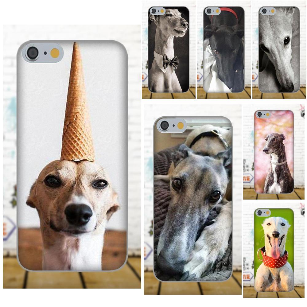 Oedmeb Soft Covers Capa For Samsung Galaxy A3 A5 A7 J1 J3 J5 J7 2016 2017 S5 S6 S7 S8 S9 edge Plus Galgo Greyhound Dog Design