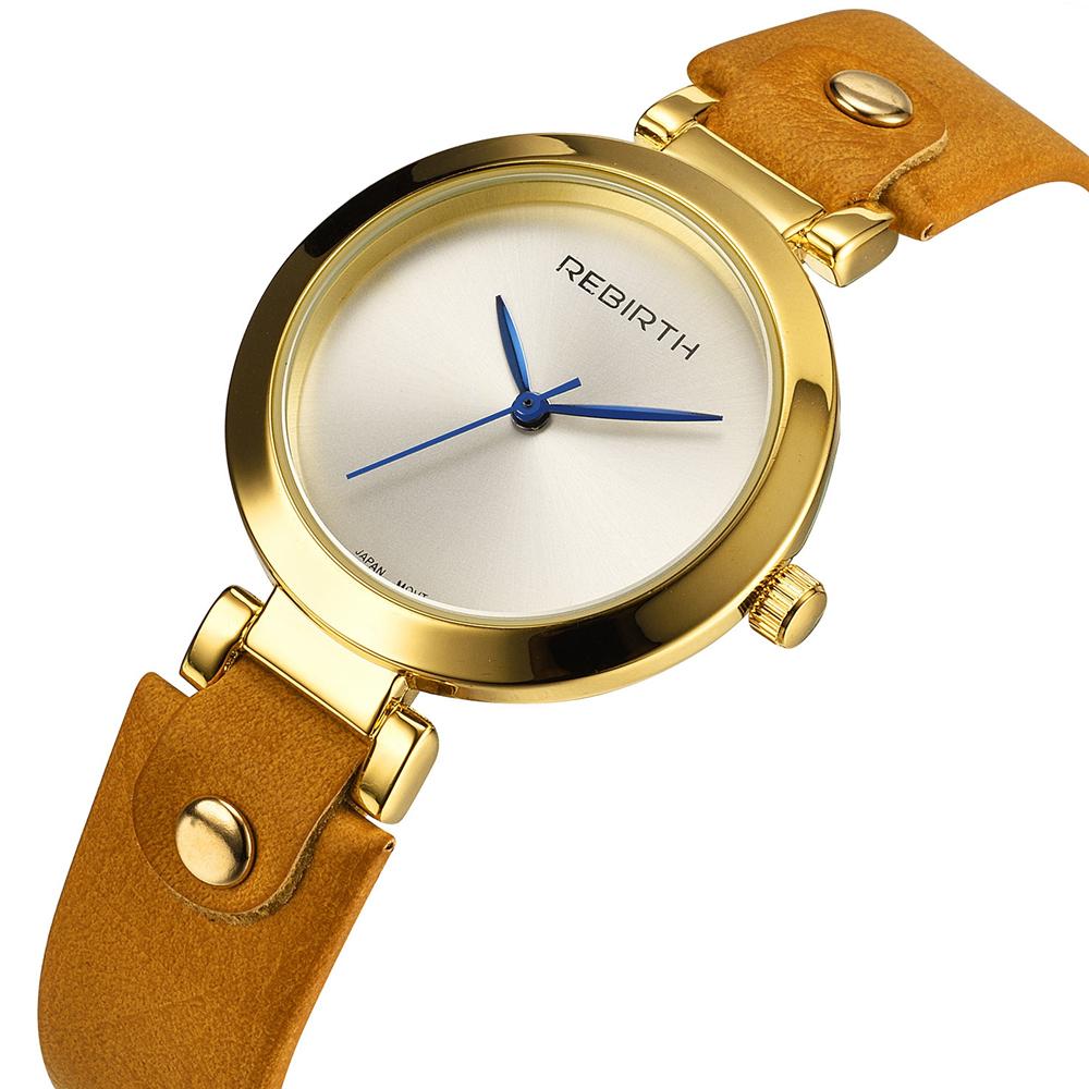 Prix pour Top Nouvelle Marque De Mode Femmes Dame De Luxe Horloge Femelle Élégant Casual Business Élégant Bracelet En Acier Quartz Bracelet Montre RE024