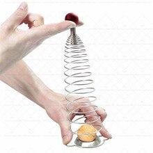 Пружинный орех Шеллер инструменты для открывания ореха Креативные кухонные аксессуары из нержавеющей стали орех крекер Портативные Инструменты для домашнего использования